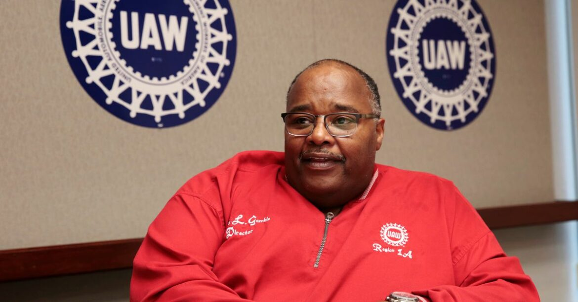 United Auto Workers President Rory Gamble to retire at end of June