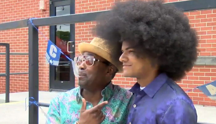 Teen Raises $39,000 For Children With Cancer By Cutting Afro